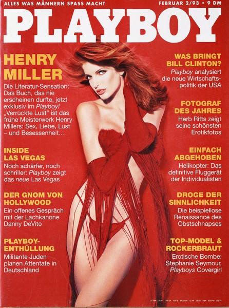 Playboy Februar 1993, Playboy 1993 Februar, Playboy 2/1993, Playboy 1993/2