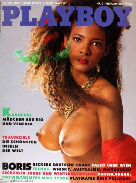 Playboy Februar 1988, Playboy 1988 Februar, Playboy 2/1988, Playboy 1988/2