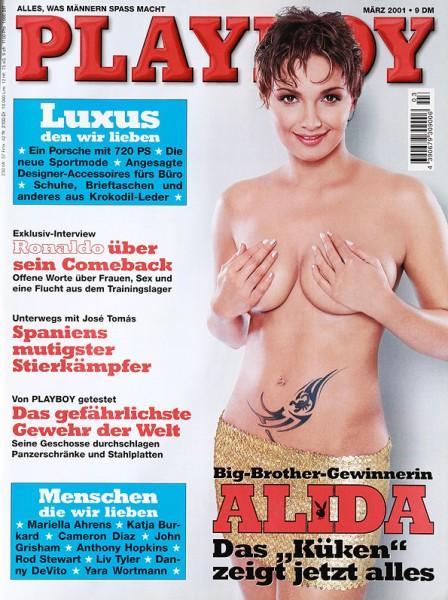 Playboy März 2001