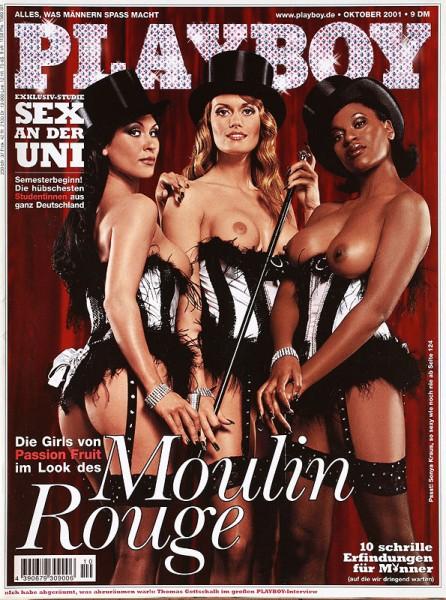 Playboy Oktober 2001, Playboy 2001 Oktober, Playboy 10/2001, Playboy 2001/10