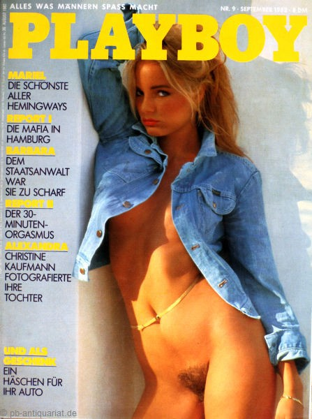 Playboy September 1982, Playboy 1982 September, Playboy 9/1982, Playboy 1982/9