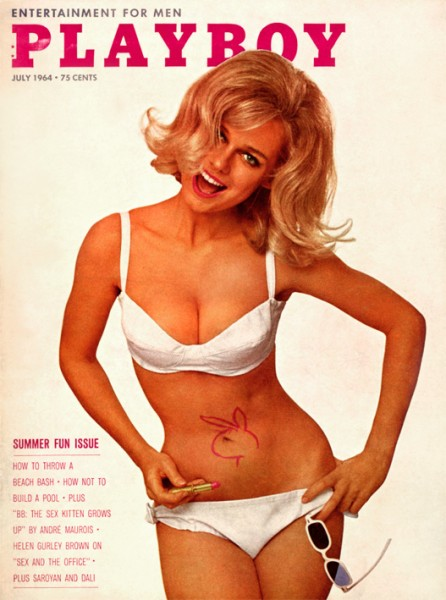 Playboy 1964 Juli USA Originalausgabe