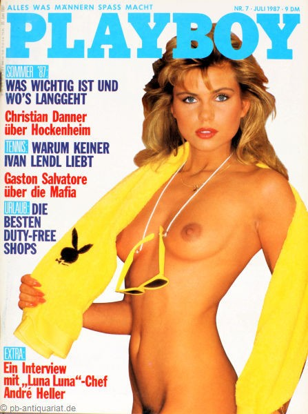 Playboy Juli 1987