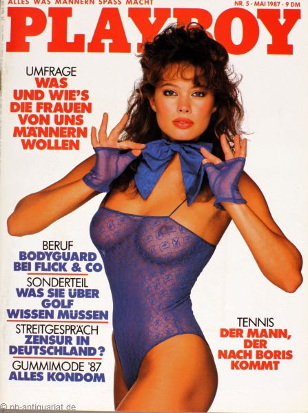 Playboy Mai 1987