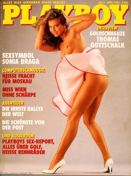 Playboy April 1985