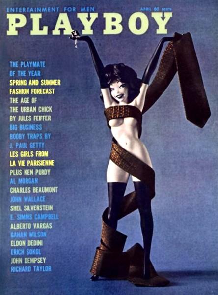Playboy 1961 April USA Originalausgabe