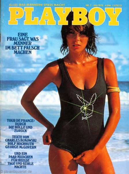Playboy 1978 Juli Deutsche Originalausgabe