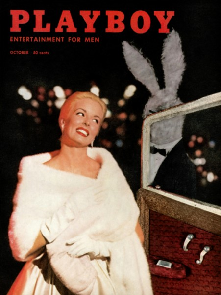 Playboy 1957 Oktober US Originalausgabe
