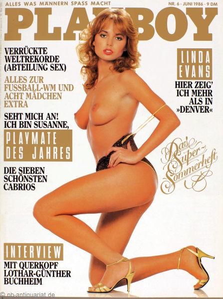 Playboy Juni 1986, Playboy 1986 Juni, Playboy 6/1986, Playboy 1986/6