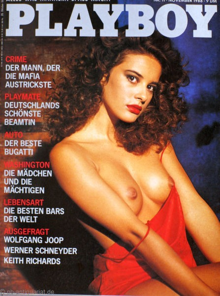 Playboy November 1988
