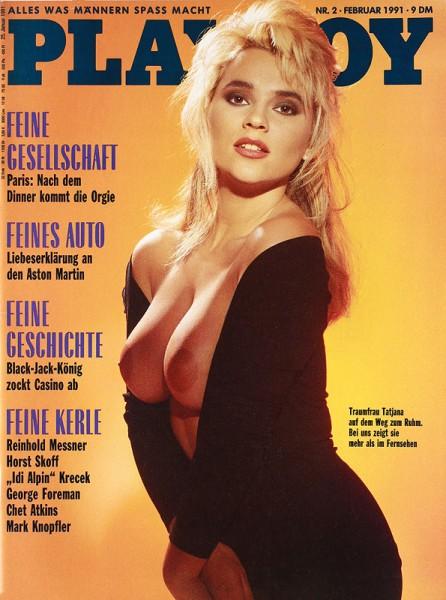 Playboy Februar 1991, Playboy 1991 Februar, Playboy 2/1991, Playboy 1991/2