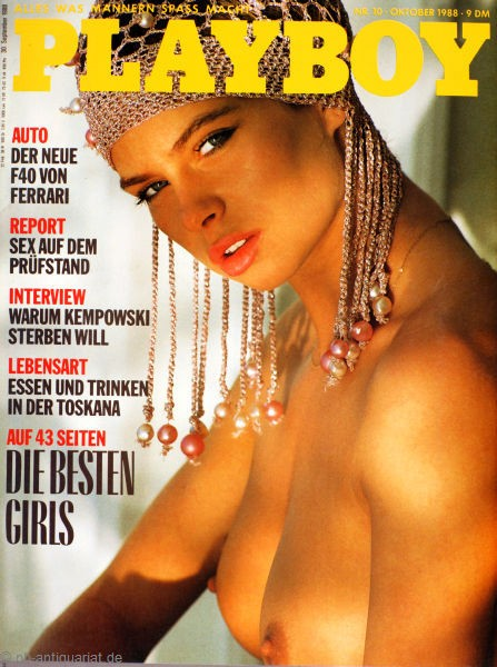 Playboy Oktober 1988, Playboy 1988 Oktober, Playboy 10/1988, Playboy 1988/10
