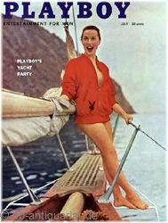 Playboy 1957 Juli Ausgabe