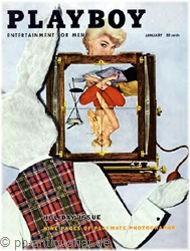 Playboy Januar 1956, Playboy 1956 Januar, Playboy 1/1956, Playboy 1956/1