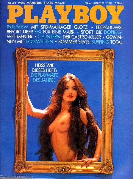Playboy Juni 1981, Playboy 1981 Juni, Playboy 6/1981, Playboy 1981/6