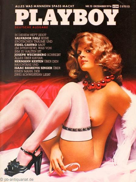 Playboy Dezember 1974, Playboy 1974 Dezember, Playboy 12/1974, Playboy 1974/12