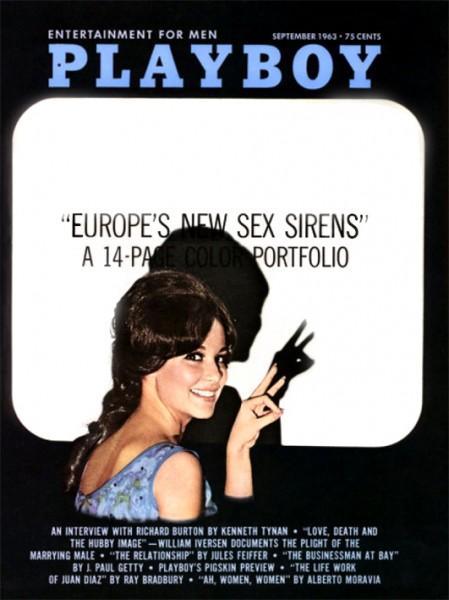 Playboy 1963 September USA Originalausgabe