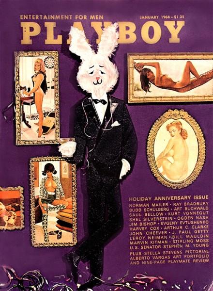 Playboy 1968 Januar USA Originalausgabe