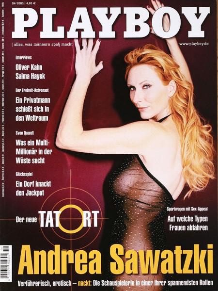 Playboy April 2003