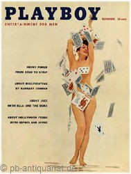 Playboy 1957 November Ausgabe