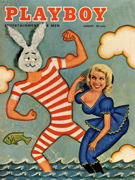 Playboy 1957 August US Originalausgabe