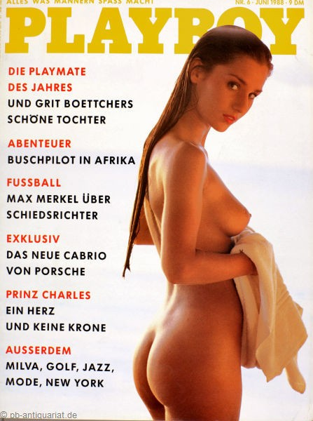 Playboy 1988 Juni Deutsche Originalausgabe