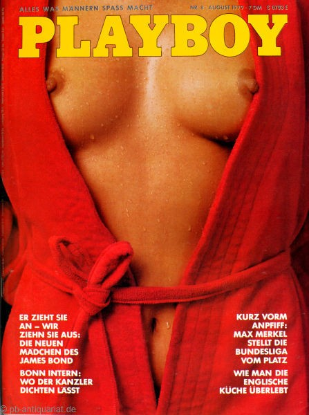 Playboy 1979 August Deutsche Originalausgabe