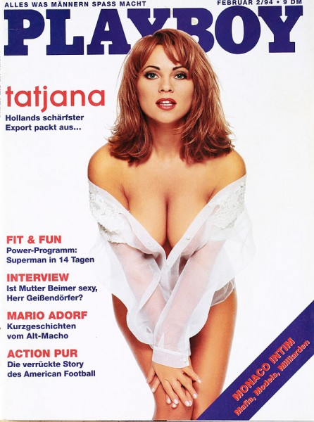 Playboy Februar 1994, Playboy 1994 Februar, Playboy 2/1994, Playboy 1994/2