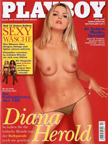 Playboy April 2002