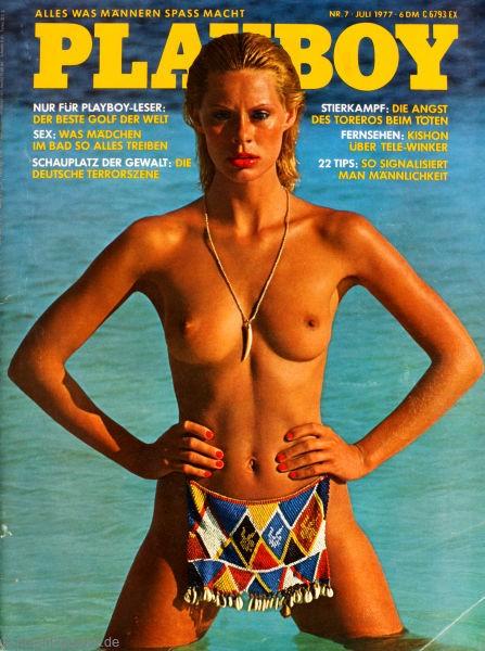 Playboy Juli 1977, Playboy 1977 Juli, Playboy 7/1977, Playboy 1977/7
