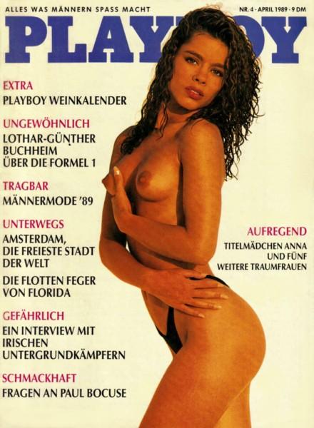 Playboy 1989 April Deutsche Originalausgabe