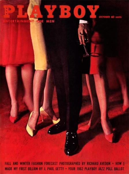 Playboy 1961 Oktober USA Originalausgabe