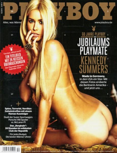 Playboy Dezember 2014, Playboy 2014 Dezember, Playboy 12/2014, Playboy 2014/12, Playboy Kennedy Summers