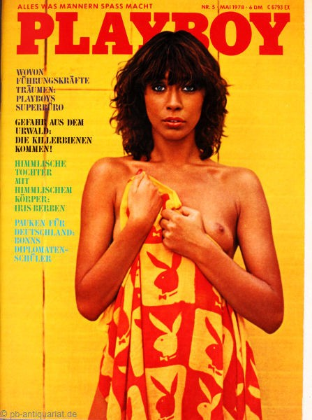 Playboy Mai 1978