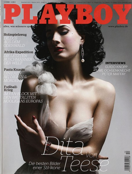 Playboy Dezember 2008, Playboy 2008 Dezember, Playboy 12/2008, Playboy 2008/12