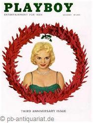 Playboy Dezember 1956, Playboy 1956 Dezember, Playboy 12/1956, Playboy 1956/12