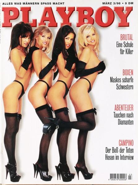 Playboy März 1996, Playboy 1996 März, Playboy 3/1996, Playboy 1996/3