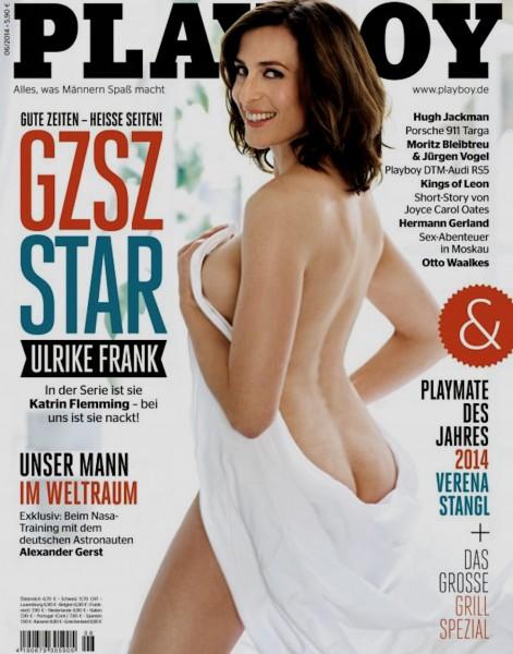 Playboy Juni 2014, Playboy 2014 Juni, Playboy 6/2014, Playboy 2014/6, Playboy Ulrike Frank