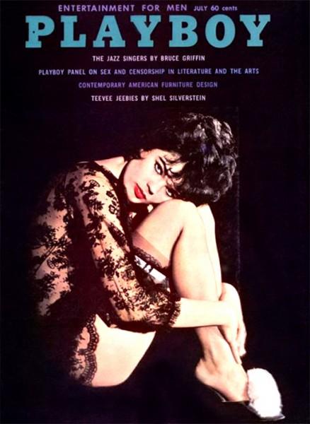 Playboy Juli 1961, Playboy 1961 Juli, Playboy 7/1961, Playboy 1961/7