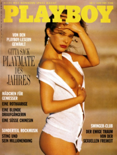 Playboy 1989 Juni Deutsche Originalausgabe
