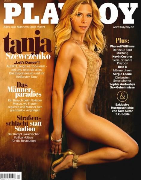 Playboy Mai 2014, Playboy 2014 Mai, Playboy 5/2014, Playboy 2014/5, Playboy Tanja Szewczenko