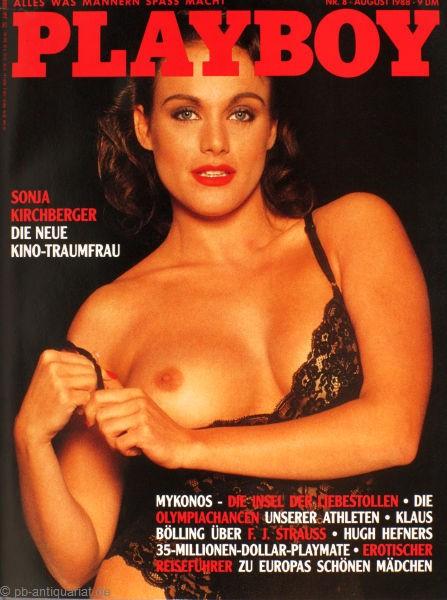 Playboy August 1988, Playboy 1988 August, Playboy 8/1988, Playboy 1988/8
