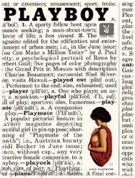 Playboy (USA) Juni 1961