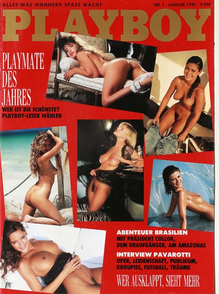 Playboy Juli 1990
