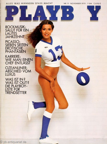 Playboy 1979 November Deutsche Originalausgabe