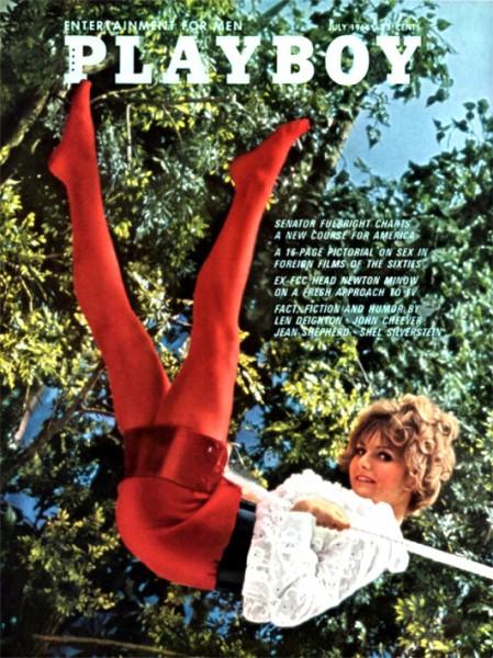 Playboy 1968 Juli USA Originalausgabe