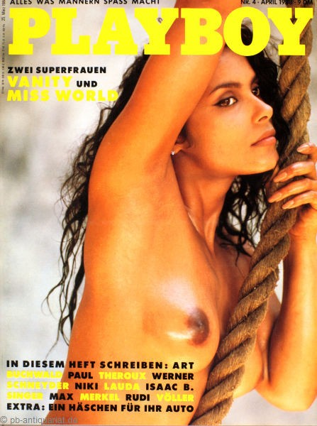 Playboy April 1988