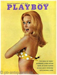 Playboy Juli 1967, Playboy 1967 Juli, Playboy 7/1967, Playboy 1967/7