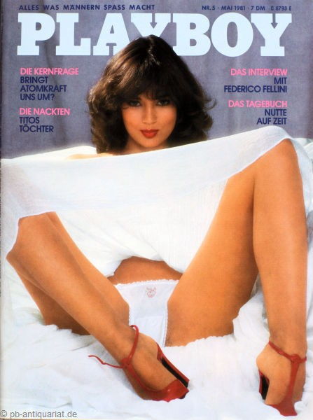 Playboy Mai 1981