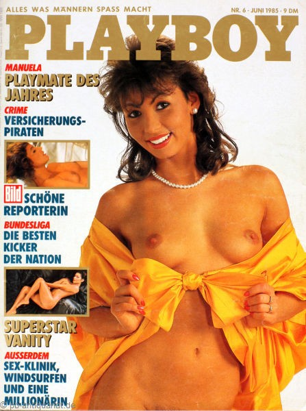 Playboy Juni 1985